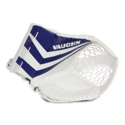 Vaughn Ventus SLR2 Youth Goalie Catch Glove in Blue and White